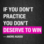 Build Confidence and Consistency with Practice
